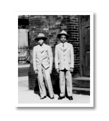Walter and his brother Mickey grew up in Harlem